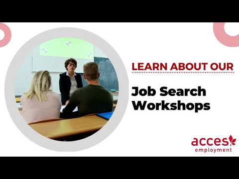 Job Search Workshop Program at ACCES