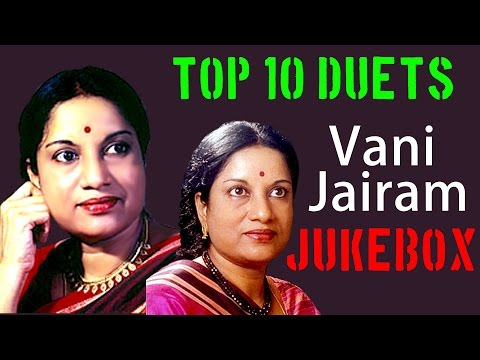Top 10 Duets Of Vani Jairam | Tamil Movie Audio Jukebox