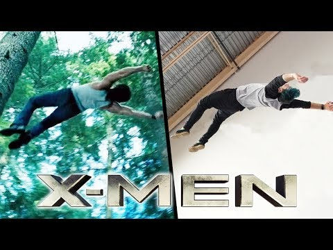 Stunts From X-Men In Real Life (Parkour, Marvel)