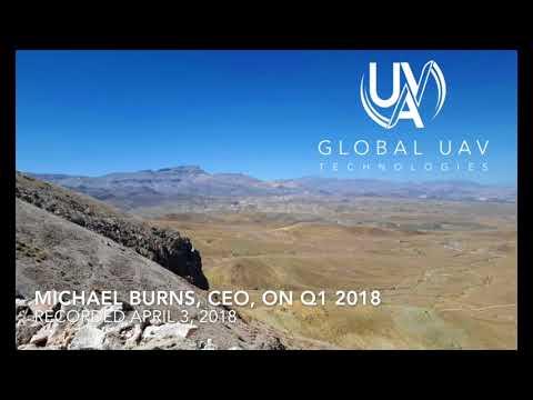 Global UAV CEO on Q1 2018 Financials