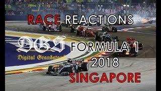 Formula 1 2018 Singapore Grand Prix Race Reactions