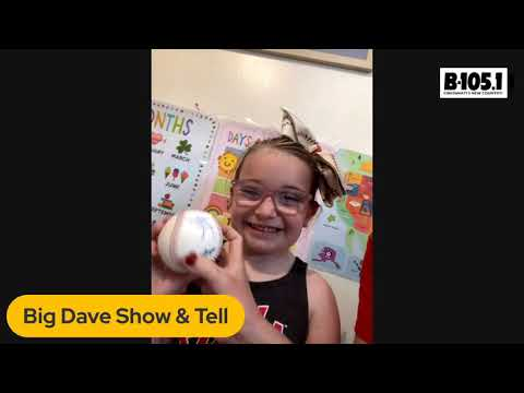 Big Dave Show & Tell with Joey Votto's Biggest Fan, Abigail!