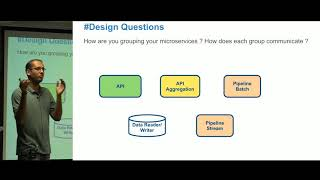 Designing microservices around your data design