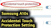 samsung s20 accidental touch protection