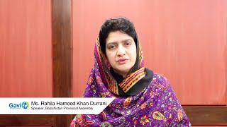 How parliamentarians must help immunisation efforts in Pakistan