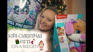 WHAT I GOT MY KIDS FOR CHRISTMAS 🎄🎅🏼 | SHOPPING ON A BUDGET
