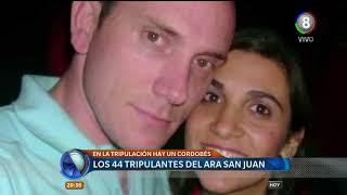 Quienes son los 44 tripulantes del Ara San Juan