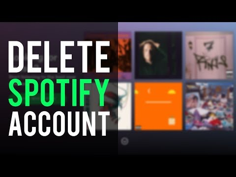 How To Delete Spotify Account Permanently | Delete Spotify Account 2019 Mp3