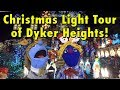 Dyker Heights Christmas Lights Displays 2017 in Brooklyn, New York City