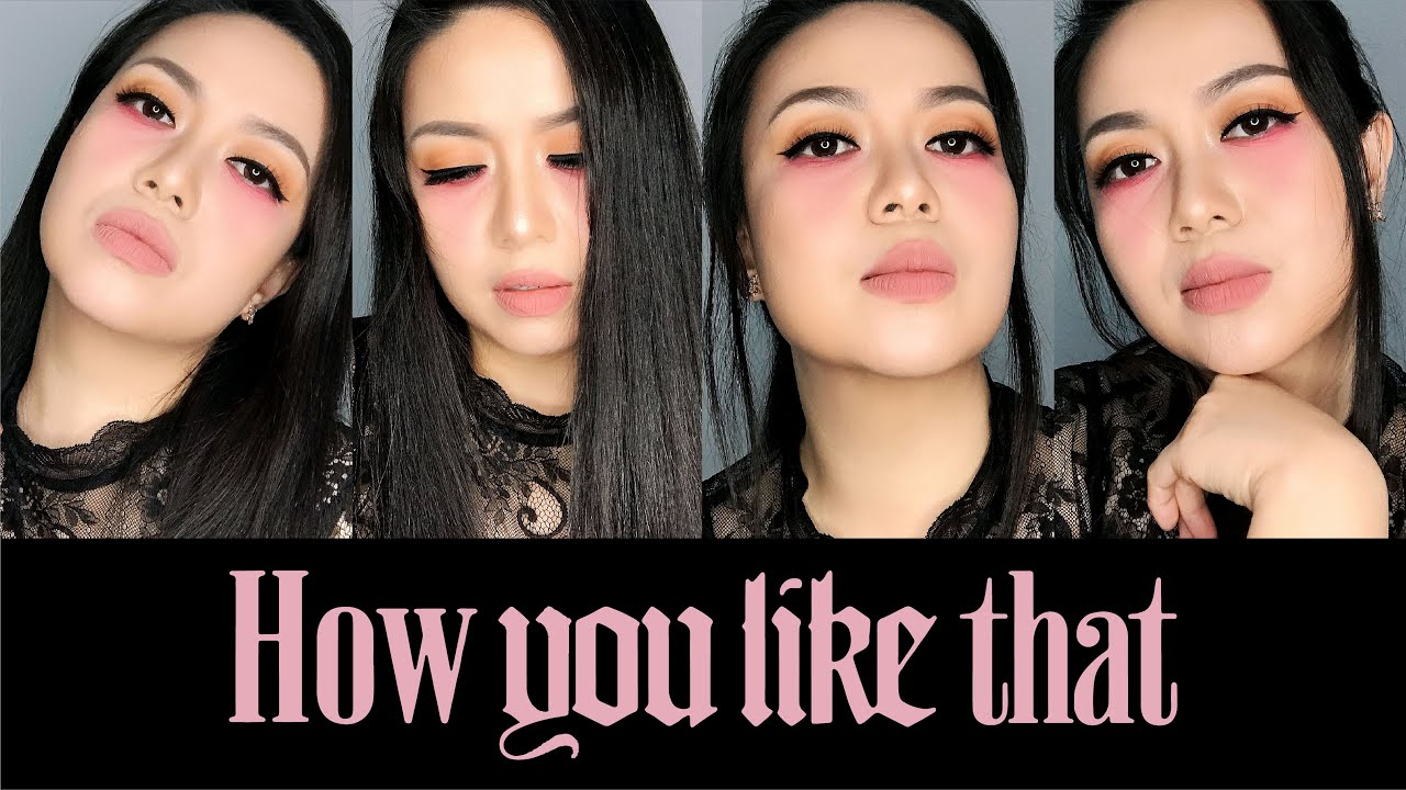 BLACKPINK  -  How You Like That  -  JENNIE inspired makeup