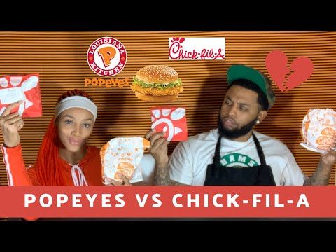 Popeyes Chicken Sandwich vs Chick-fil-A Your Videos on VIRAL CHOP VIDEOS