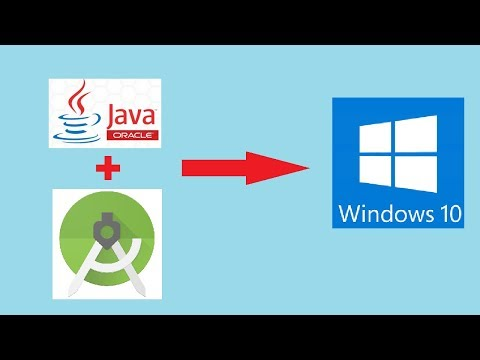 How To Download And Install Android Studio And Java JDK 11 On Windows 10 And How To Run AVD