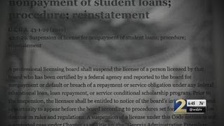 Unpaid student loans could cost you your job under little-known state law