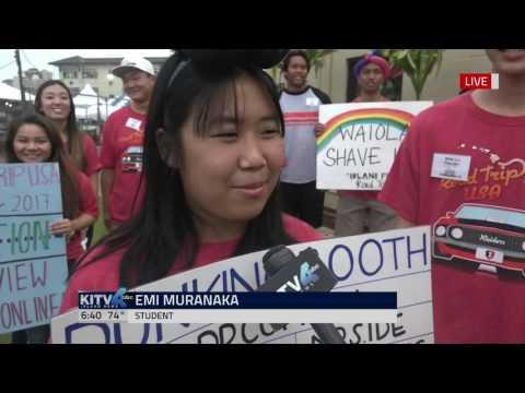 Iolani Fair's Dunking Booth - KITV Good Morning Hawaii