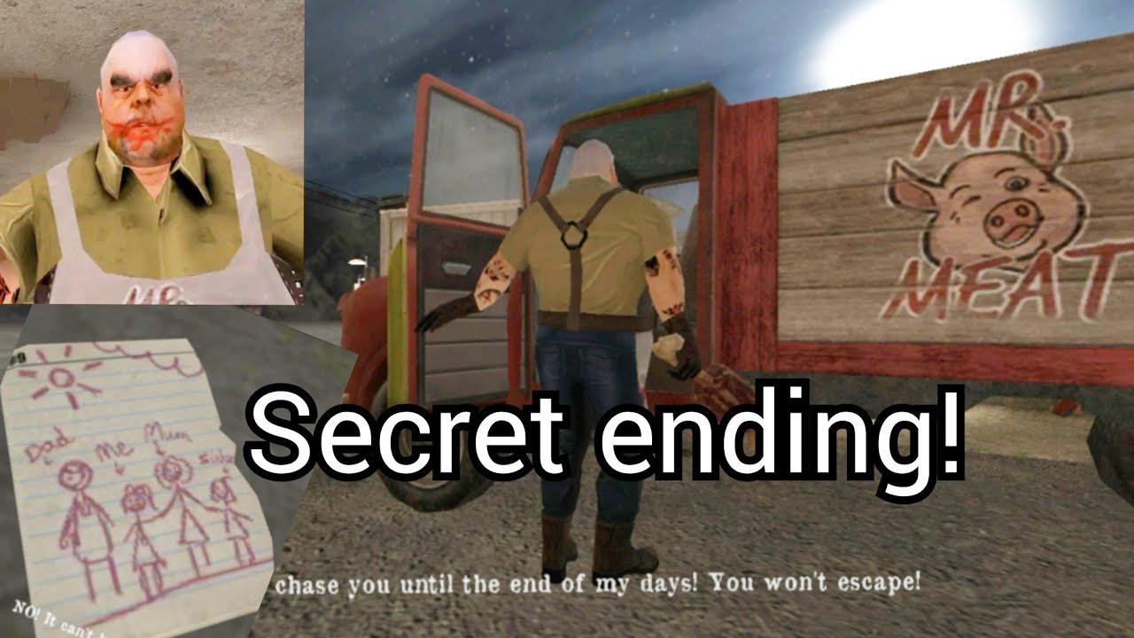 Mr Meat secret ending & All secret notes location