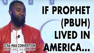 Spoken Word: Prophet (pbuh) Among Us! by Boonaa Mohammed   ICNA-MAS Convention 2018