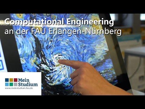 Computational Engineering an der FAU Erlangen-Nürnberg