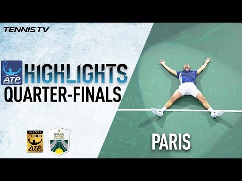 Benneteau Stuns Cilic In Paris Friday 2017 Highlights