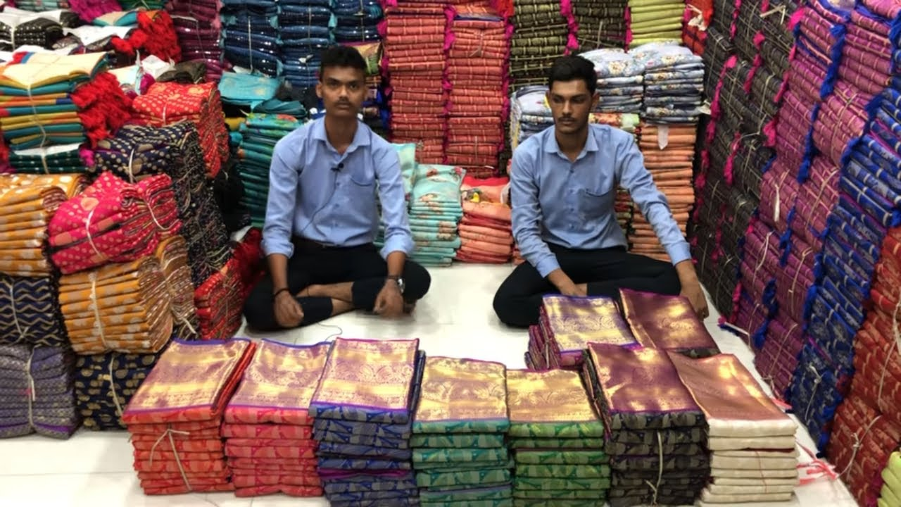 Download Episode 2 Kanjeevaram art silk sarees ll Price 1550 ll COD ll App download link in description