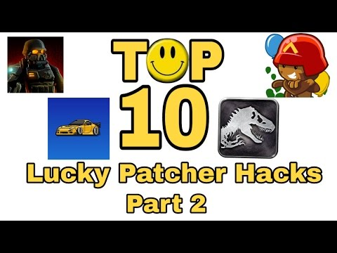 Top 10 Games you can Hack with Lucky Patcher - Part 2 - YouTube