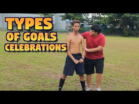 TYPES OF GOALS CELEBRATIONS