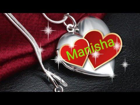 Manisha Name Status Video Deepak Name Art Youtube