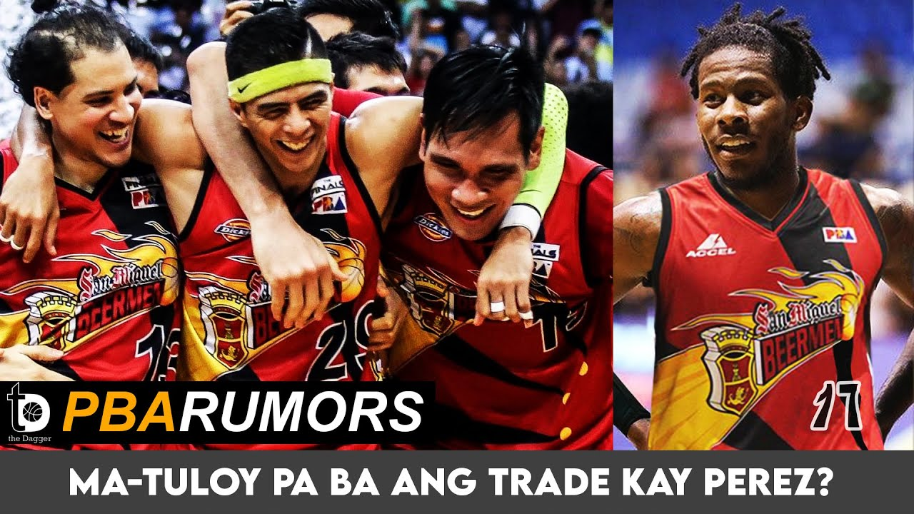 PBA TRADE APPROVED! CJ Perez to San Miguel Beermen gets PBA approval!