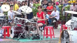 Dua Drummer cewek cantik Adu skill,,,