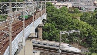 """日本で唯一!地下鉄と新幹線の""""交差点"""" 神戸・須磨"""