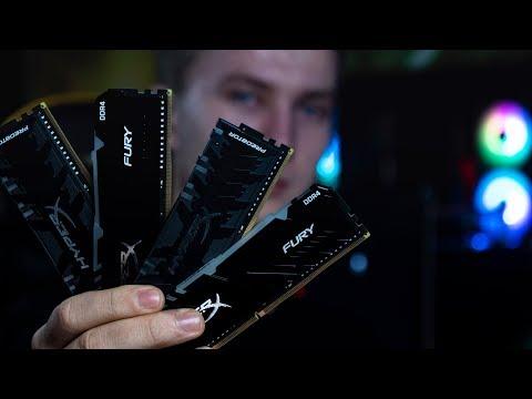 Мини сравнение оперативной памяти Kingston HyperX Fury RGB и Predator RGB | 4k 60 Fps Live Stream