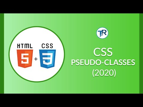 CSS: WHAT IS PSEUDO CLASS