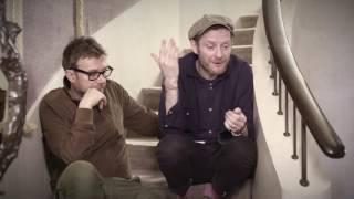 damon albarn and jamie hewlett in conversation with gorillaz