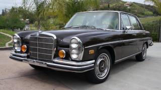 1972 Mercedes Benz 280SE 4.5 W108 Clean Runner W109
