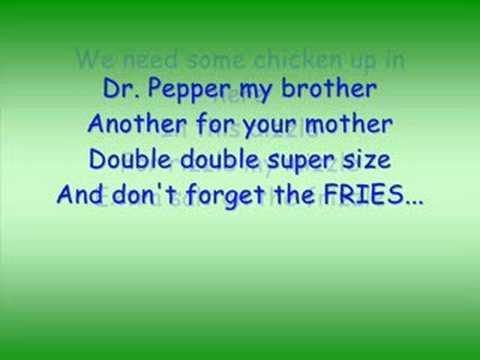 Fast Food Freestyle Lyrics