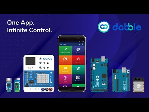 Dabble - Bluetooth controller for Arduino & ESP32 - Apps on