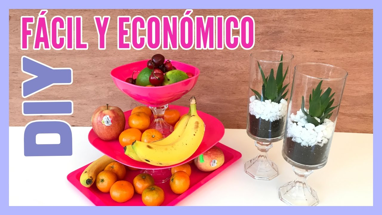 Manualidades para Decorar tu Casa Super Fcil y Econmico YouTube