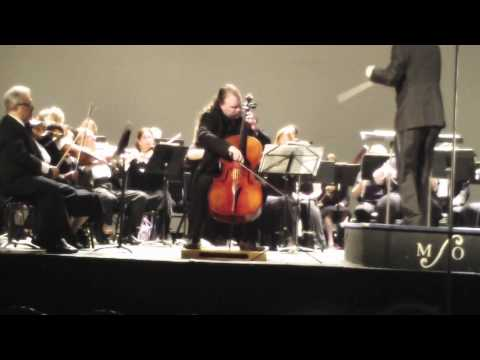 Faure Elegy, Cellist Jameson Platte, Conductor Roy Gussman And The Monmouth Symphony