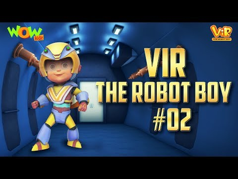 Vir: The Robot Boy # 2 - 3D action compilation for kids - As seen on Hungama TV