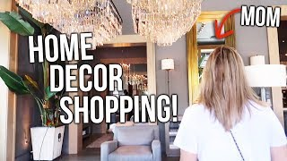 SHOPPING FOR NEW FURNITURE & HOME DECOR!!