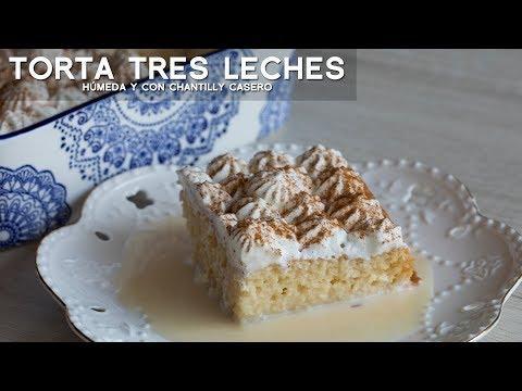 COMO PREPARAR TORTA TRES LECHES MOJADITA FÁCIL Y RÁPIDA | PETITE DESSERTS | CAMILA ITURRY