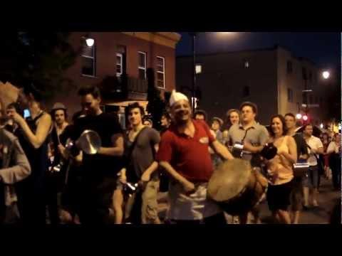 casseroles dans Hochelaga - Montréal, 25 mai 2012