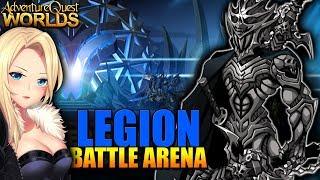 Legion Battle Arena (New Legion Gear?) AQW