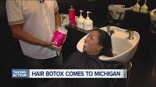 Hair Botox a new trend in hair treatment