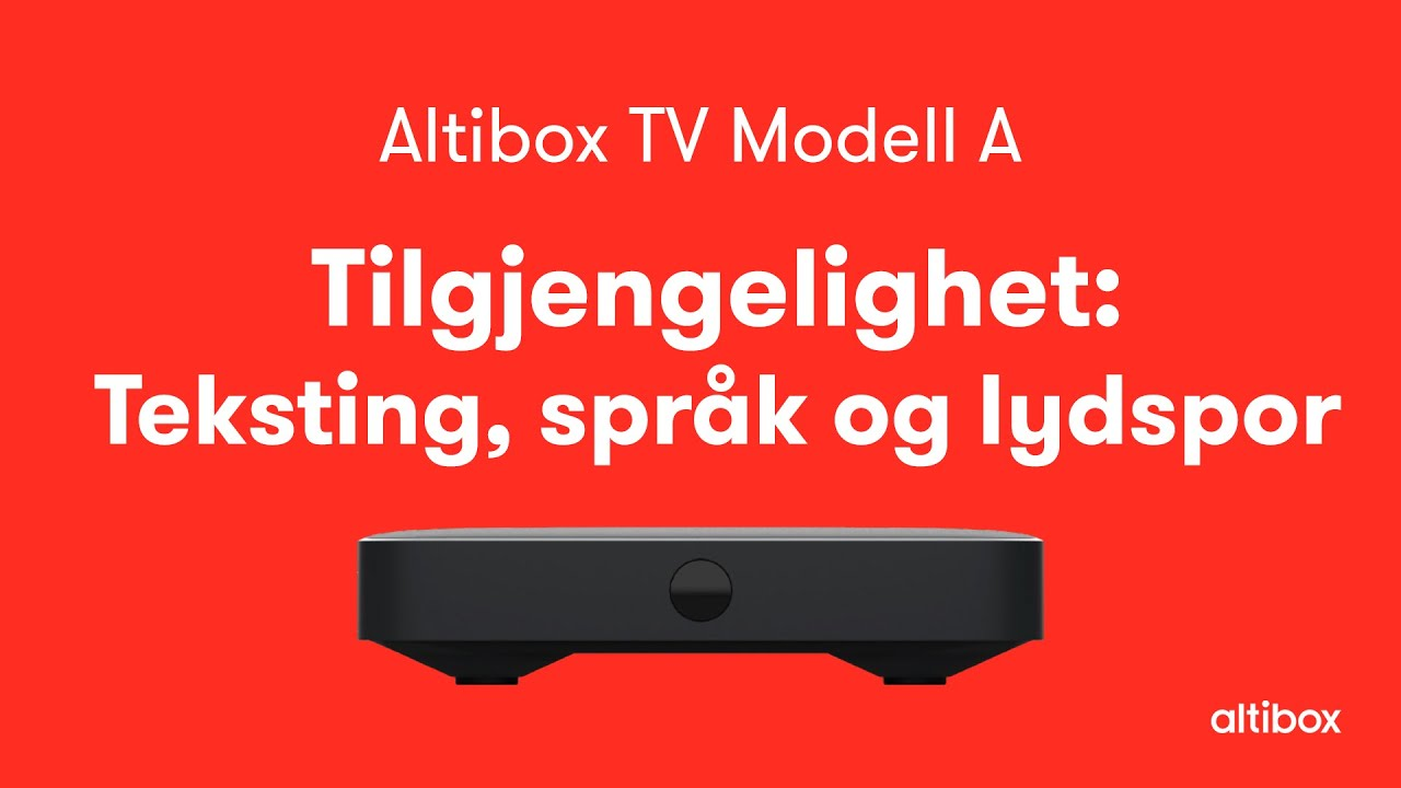 Nrk Mangler Teksting Altibox