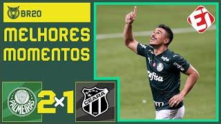PALMEIRAS 2X1 CEARÁ - MELHORES MOMENTOS - BRASILEIRÃO (03/10/2020)