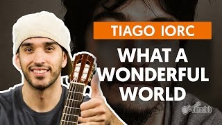 What a Wonderful World - Tiago Iorc (aula de violão)