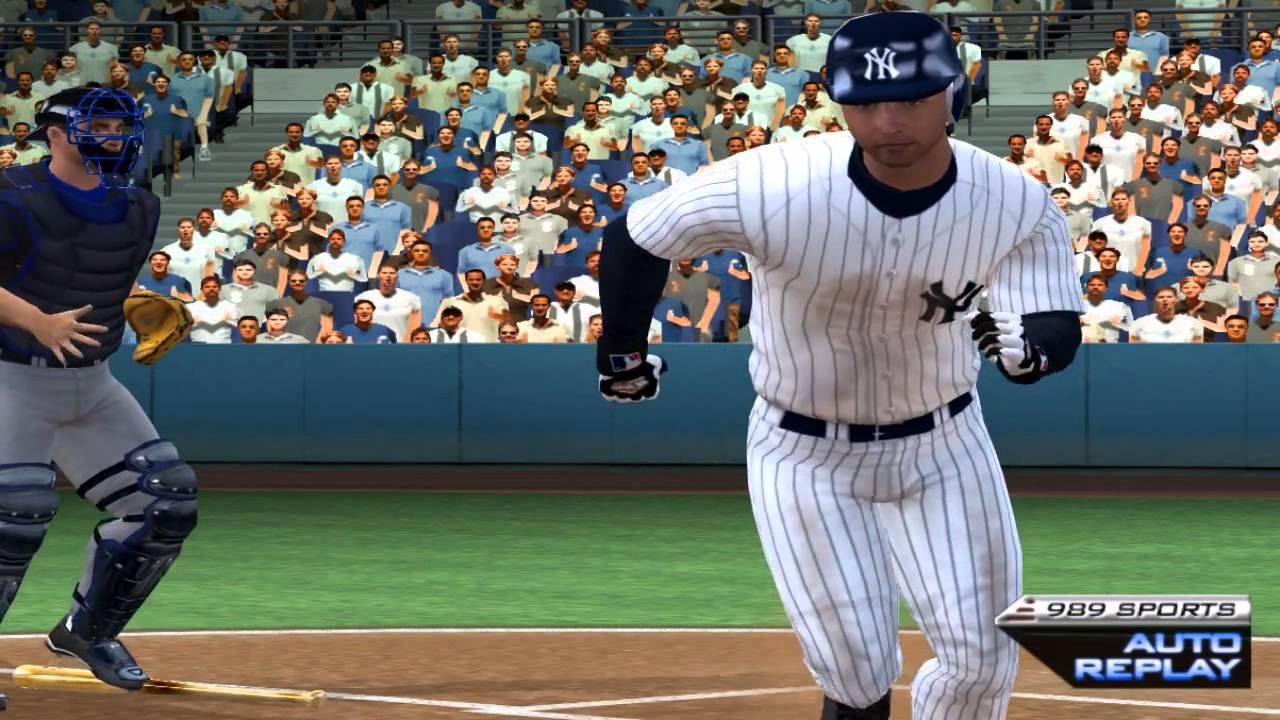 Download MLB 2005 Baseball PS2 PCSX2 - 989 Mets at Yanks 60fps