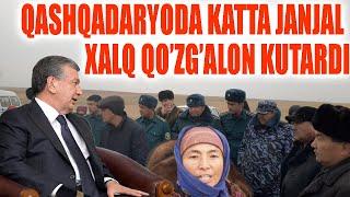 PRIZEDENTGA MUROJAT QAMASHIDA KATTA JANLAL XALQ QO