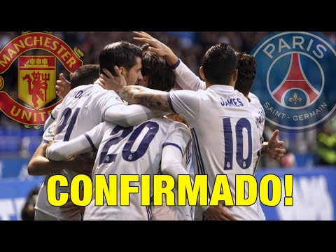 CONFIRMADO: Estrella de Real Madrid descarta su salida | Man United pone 120 Millones por crack
