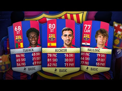 NEW BARCA STRIKER PACO ALCACER THE YOUNGEST BARCELONA TRANSFER SQUAD! FIFA 16 ULTIMATE TEAM